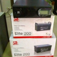 2.4kva Inverter Bundle with 2nos 200AH Batteries